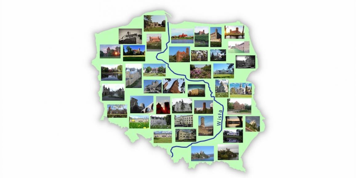 """Wyjątkowa wystawa """"Zamki i Pałace w kraju nad Wisłą"""" – w regionach"""